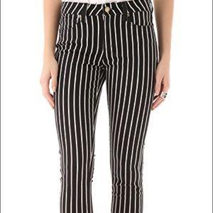 Paige hoxton stripe skinny jeans